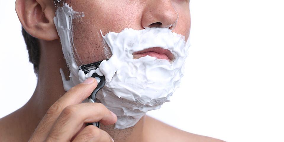 髭剃り画像
